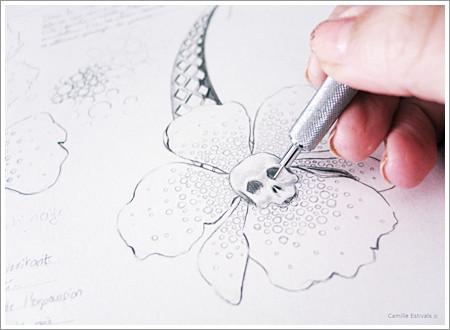 bijouterie-joaillerie-diplome-croquis-gouache-dessin-camille-estivals-bijoux