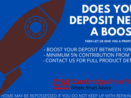 Give Your Deposit A Boost!