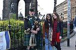 Edinburgh Me and Apshara bagpiper.jpg