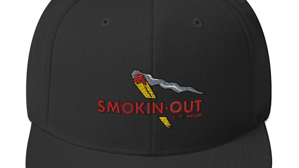 Smokin-out Snapback Hat
