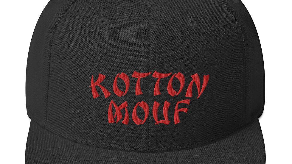 Chinese Kottonmouf Logo Snapback Hat