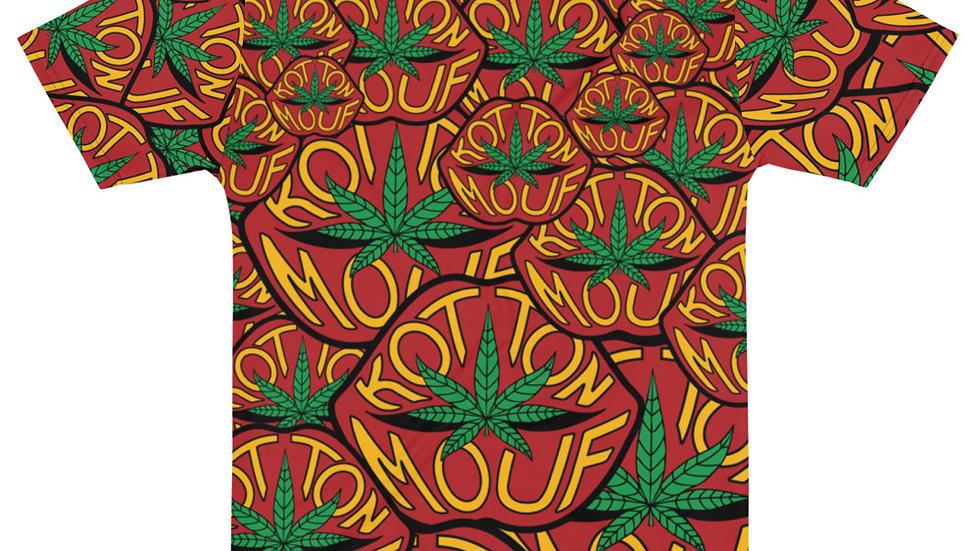 Lip Logo Collage T-shirt