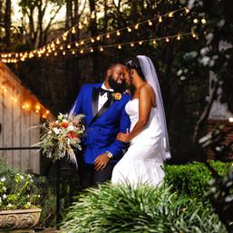 Beautiful wedding at Primrose Cottage in Atlanta, GA.