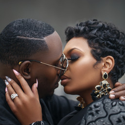 Dj Shay Money & Kanandez Epperson Rooftop engagement shoot
