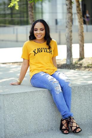 Xavier University student photoshoot