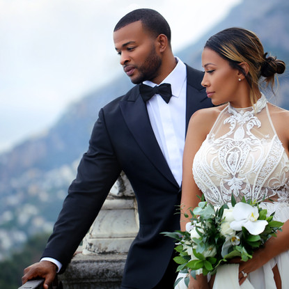 Wedding shot in Italy