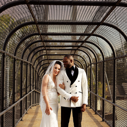 Beautiful wedding shot in Nashville, TN.