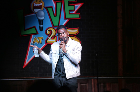 Bill Bellamy performing in Witcha, Kansas