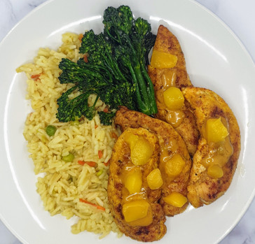 Mango-Curry Chicken