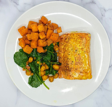 Coconut-Curry Salmon