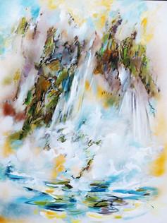Waterfall in Blue Mountains, Australia