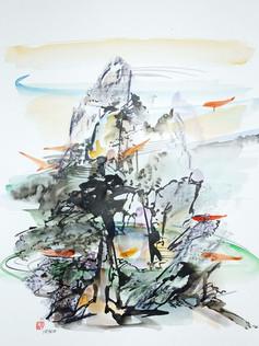 Watercolours & Mixed Media