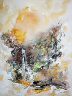 Waterfall-in-Summer