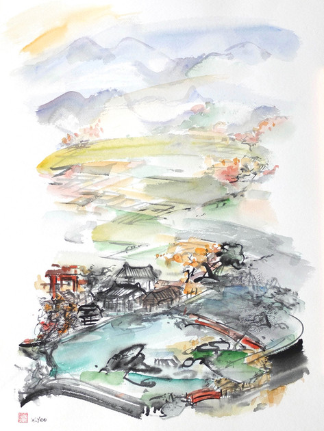 Village in Japan