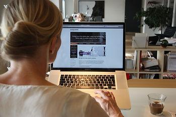 Miljøfoto for EMPOWER erhvervspsykologi viser det åbne kontorlandskab i Filmbyen