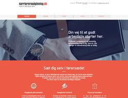 Nyt website for karriererådgivning