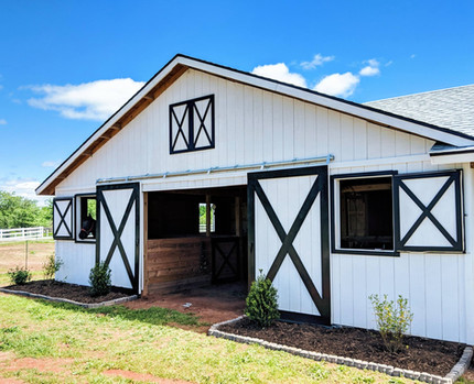 Front of our barn