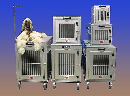 Aluminum Dog Crates