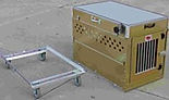 Lockable removable wheel system