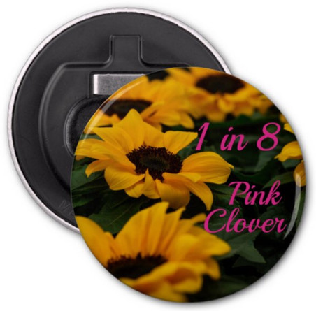 Sunflower 1 in 8 Bottle Opener