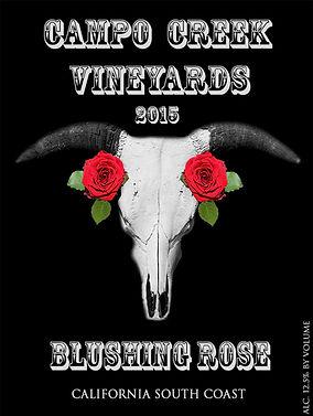 2015 BLUSHING ROSE
