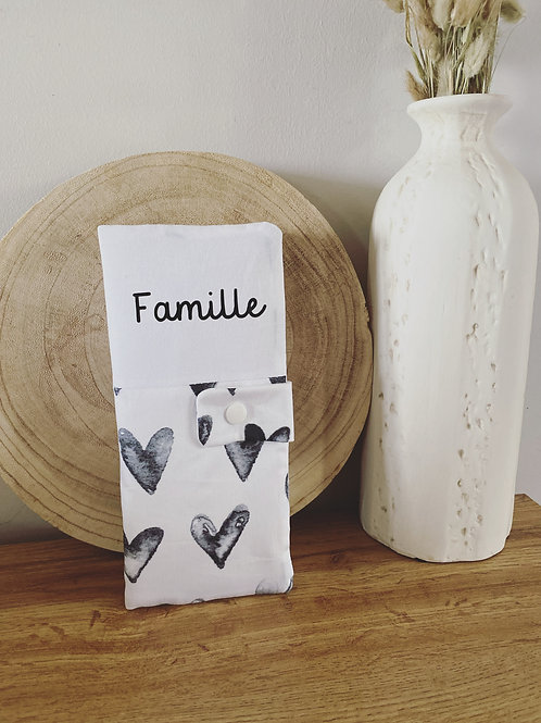 Housse livret de famille