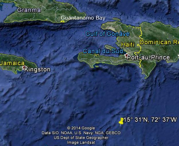 USS Dorado location.jpg