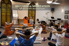 Kriyayoga Meditaton at Unity Church