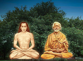 Mahavatar Babaji and Yukteshwar Giri