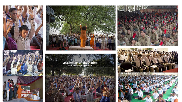 Kriyayoga Village program in Uttar Pradesh