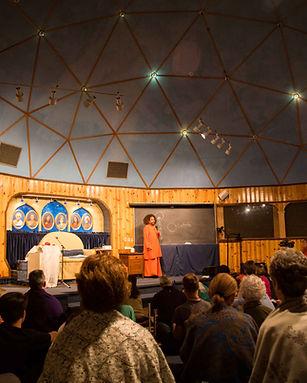 Guruji Yogi Satyam at Yog Fellowship tem