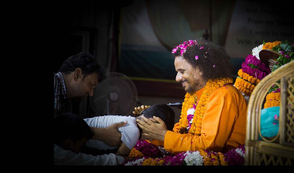 Guruji Yogi Satyam at Guru Purnima