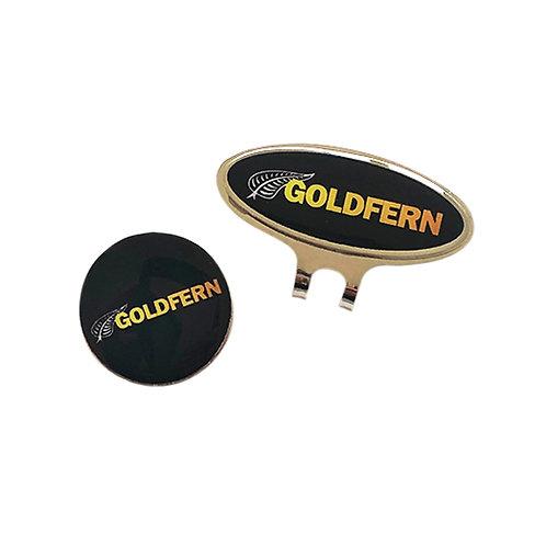 Goldfern Hat Clip
