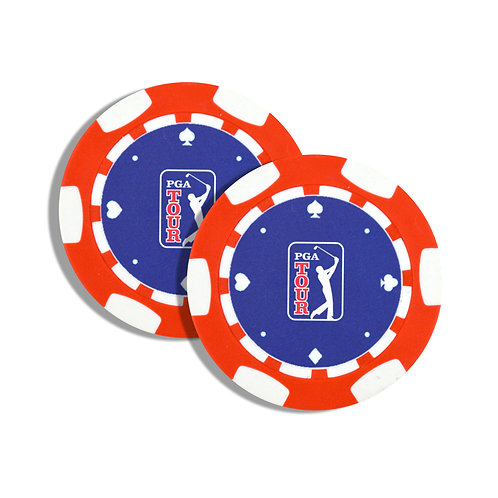 PGA Tour Golf Ball Markers - Twin Pack