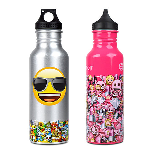 Emoji Water Bottle