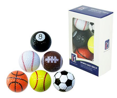 PGA Tour Sports Balls - pkt 6