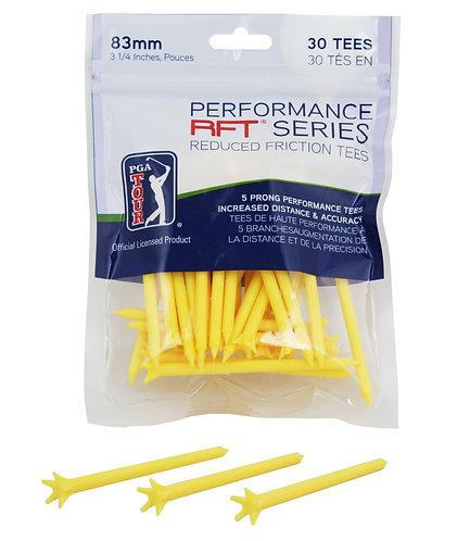 PGA Tour Performance Yellow Tee 83mm (30)