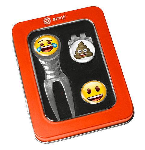 Emoji Divot Tool Set Laughing