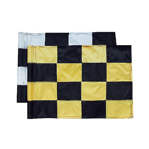 Flag - Tube Lock Checkered