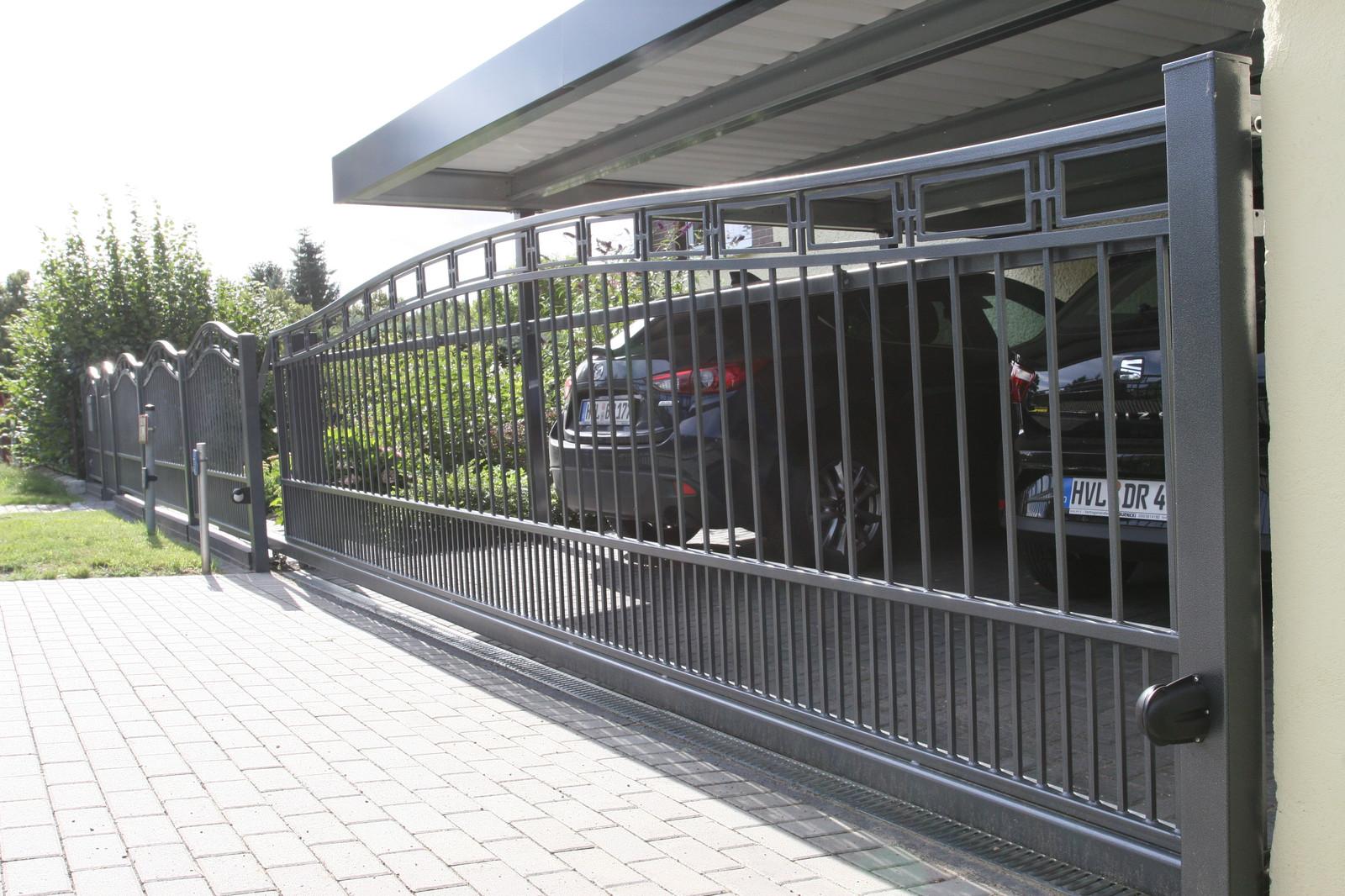 Komplette Zaunanlagen Das Original Falken-Zaun