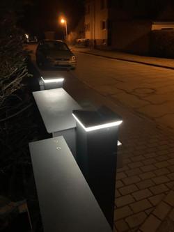 LED-Kappe Briefkastensäule