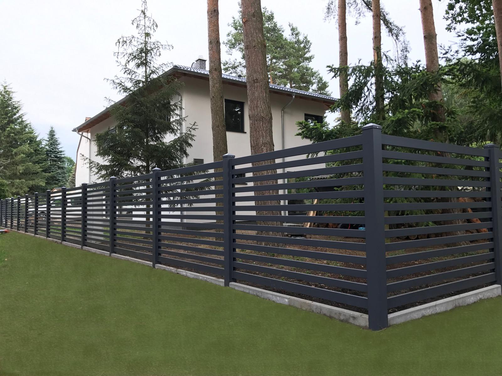 komplette zaunanlagen das original falken zaun. Black Bedroom Furniture Sets. Home Design Ideas