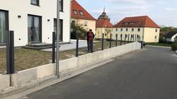 Bauphase Straße