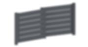 Aluminium Zaun