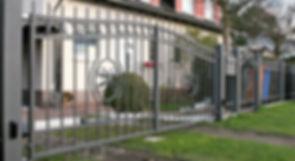 Antiker Zaun Stil