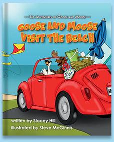 Goose & Moose Visit The Beach