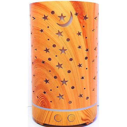 Difusor de Aromaterapia  Estrellas Madera 150 ML