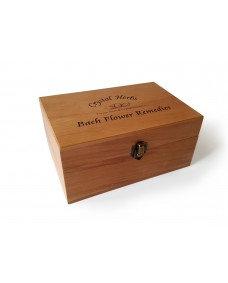 Caja de madera para esencias 10 ml