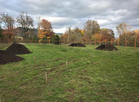 So much soil!!!