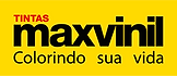 MAXVINIL - Logo com Slogan e Fundo amare
